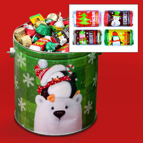 Cold But Cozy Hershey's Holiday Mix Tin - 5 lb