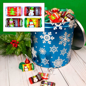 Flurries Hershey's Holiday Mix Tin - 5 lb