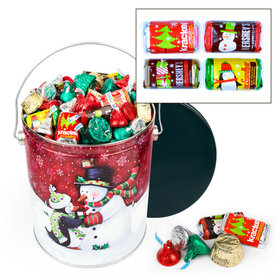 Penguin Present Hershey's Holiday Mix Tin - 5lb