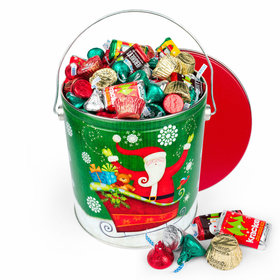 Sparkly Santa Hershey's Holiday Mix Tin - 5lb