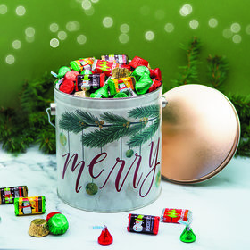 Very Merry Hershey's Holiday Mix Tin - 5 lb