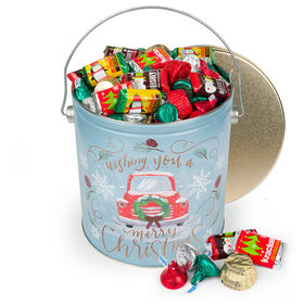 Vintage Christmas Hershey's Holiday Mix Tin - 5 lb