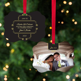 Personalized Together We Celebrate Christmas Ornament