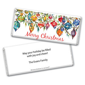 Personalized Christmas Ornaments Chocolate Bar Wrappers Only