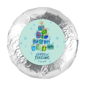 "Personalized Christmas Presents 1.25"" Stickers (48 Stickers)"