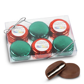 Personalized Chocolate Covered Oreo Cookies Add Your Logo' 6Pk