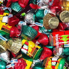 Holiday Mix Hershey's MINIATURES, KISSES and REESES Assorted