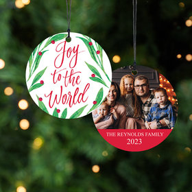 Personalized Family Christmas Ornament