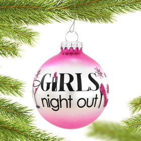 Girls Night Out Christmas Ornament