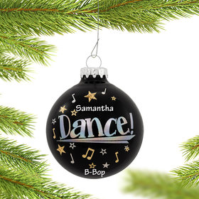 Personalized Dance Star Christmas Ornament