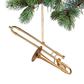 Trombone Christmas Ornament
