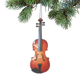 Personalized Violin Christmas Ornament