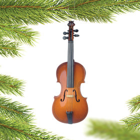 Personalized Cello Christmas Ornament