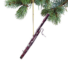 Personalized Bassoon Christmas Ornament
