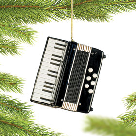 Personalized Accordion Christmas Ornament