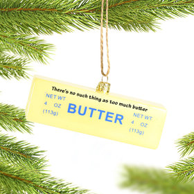 Personalized Butter Stick Ornament
