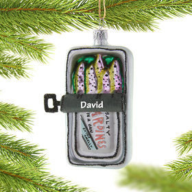 Personalized Sardines Christmas Christmas Ornament