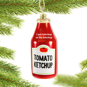 Personalized Ketchup ChristmasOrnament Christmas Ornament