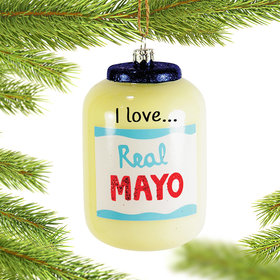 Personalized Mayo Christmas Ornament