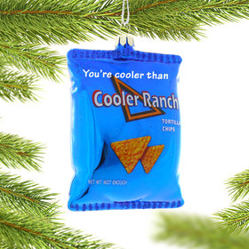 Personliazed Cooler Ranch Chips Christmas Ornament
