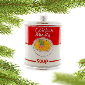 Chicken Noodle Soup Christmas Ornament