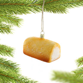 Twinkie Christmas Ornament