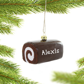 Personalized Hoho Christmas Ornament