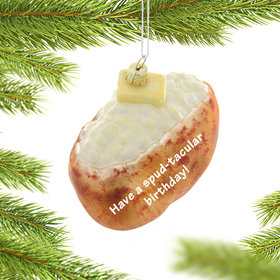 Personalized Baked Potato Christmas Ornament