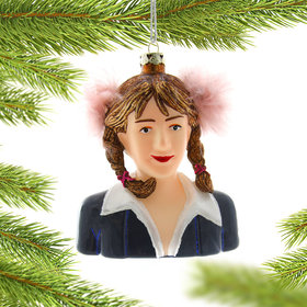 Britney Spears Christmas Ornament