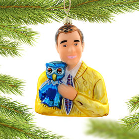 Mister Rogers Christmas Ornament