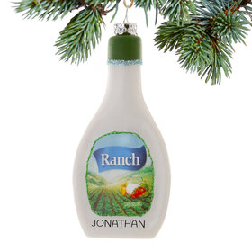 Personalized Ranch Christmas Ornament