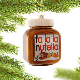 Personalized Nutella Christmas Ornament