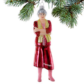 Personalized Golden Girls Dorothy Christmas Ornament