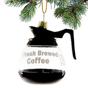 Diner Coffee Pot Christmas Ornament