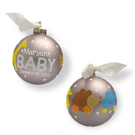 Personalized New Baby Toys Christmas Ornament