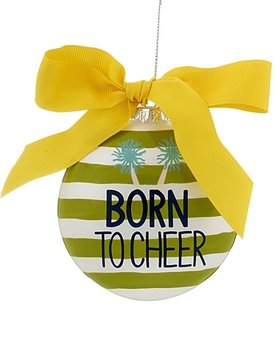 Born to Cheer Christmas Ornament