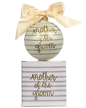 Mother of the Groom Christmas Ornament