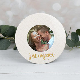Picture Frame Just Engaged