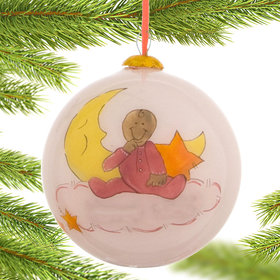 Baby Girl Christmas Ornament