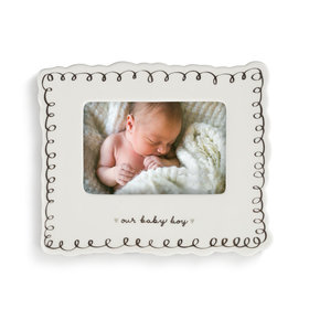 Picture Frame Our Baby Boy