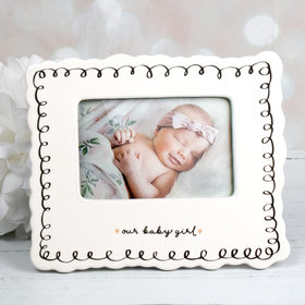 Picture Frame Our Baby Girl