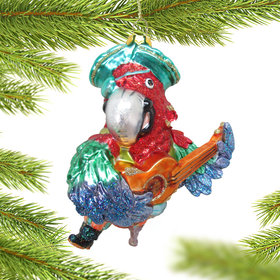 Pirate Parrot Christmas Ornament
