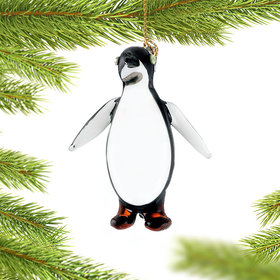Antarctica Penguin Christmas Ornament