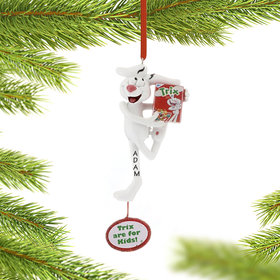 Personalized General Mills Cereal Trix Rabbit Christmas Ornament