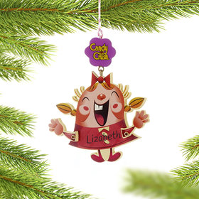 Personalized Candy Crush Game Tiffy Christmas Ornament