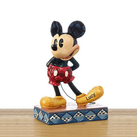 Personalized Mickey Mouse Tabletop Christmas Ornament