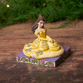 Belle Personality Pose Tabletop Christmas Ornament