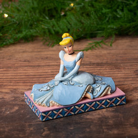 Cinderella Personality Pose Tabletop Christmas Ornament