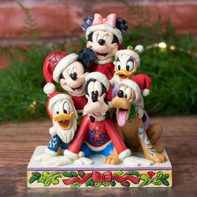 Christmas Mickey and Friends Christmas Tabletop Ornament