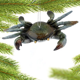 Cozumel Reef Crab Christmas Ornament